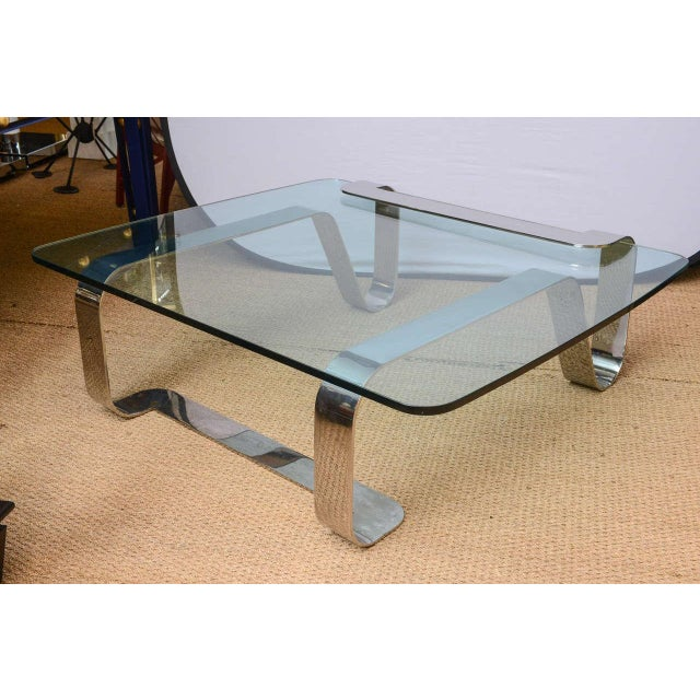 Designed by Gary Gutterman in 1973, this coffee table is a remarkable sculpture and functional piece of furniture made in...