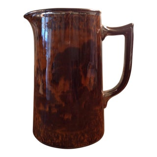 English Victorian Luster Ware Jug For Sale