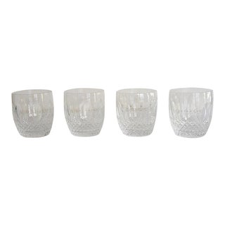 Waterford Old Fashioned Glasses, Colleen Pattern - Set of 4 For Sale
