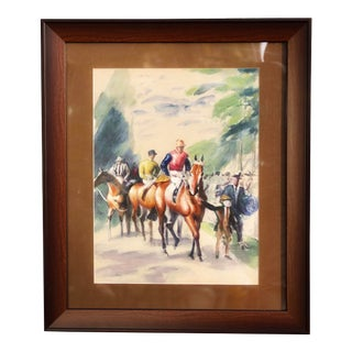 Horses Rinoarts Limited Collection Painting For Sale