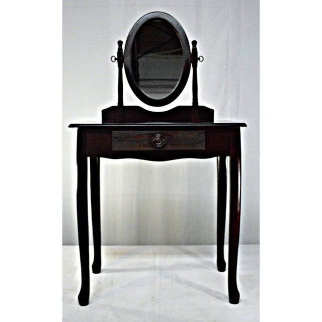 Cuban Mahogany Vanity For Sale In Miami - Image 6 of 10