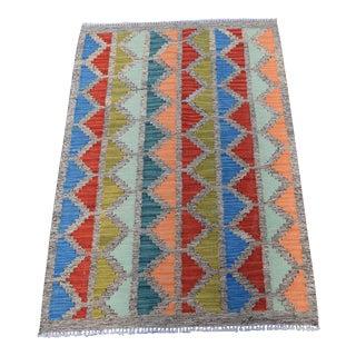 "Afghan Maimana Decorative Kilim Rug - 2'9"" x 4'"