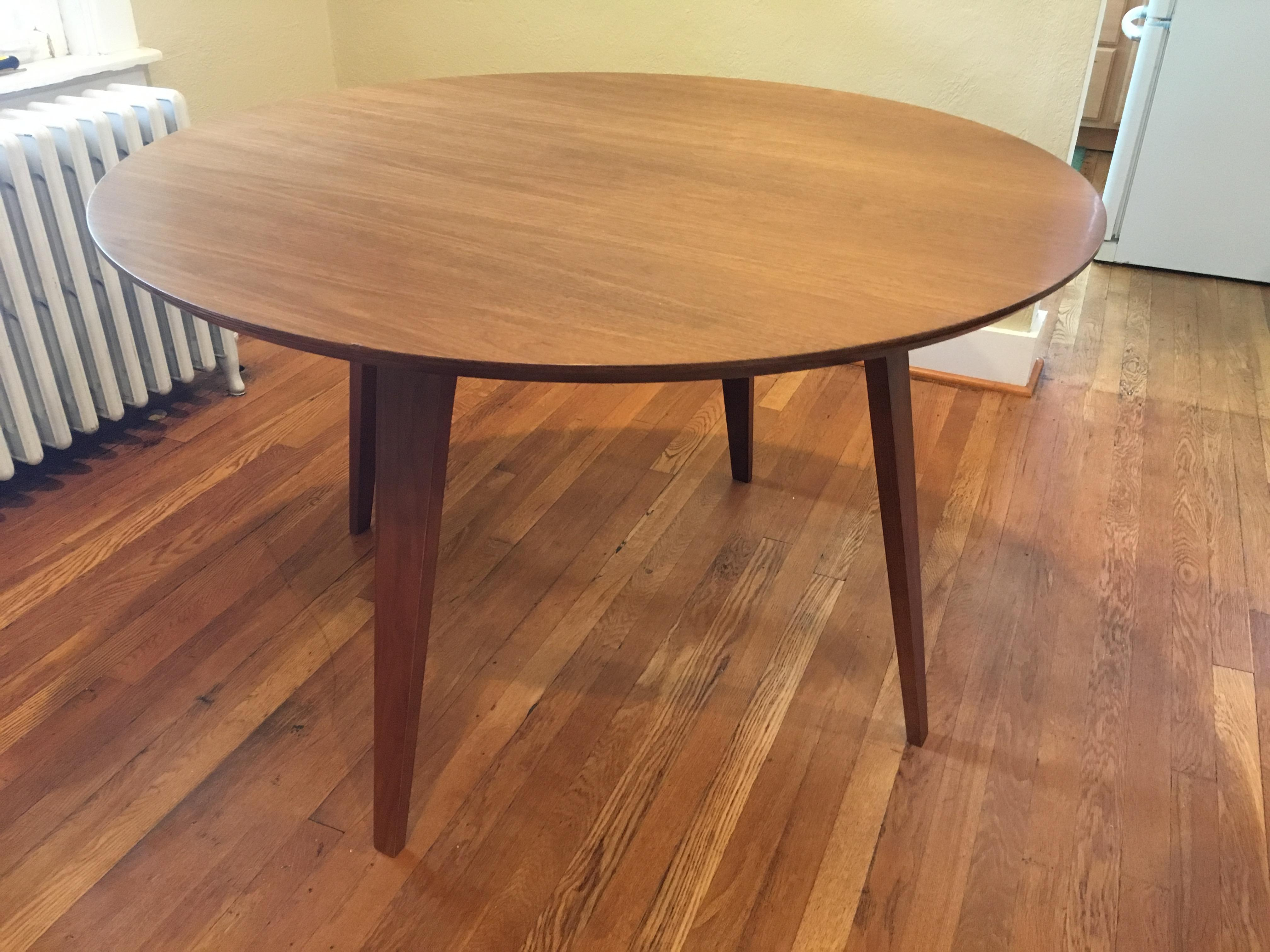 48 round dining table marble 48 cherner