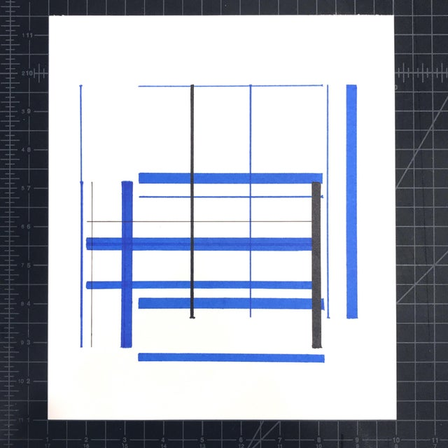 Introducing a new series of works on paper by American abstract artist Brandon Woods: the EUREKA drawings. Applying the...