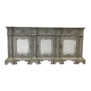 Early 20th C Italian Sideboard Credenza For Sale