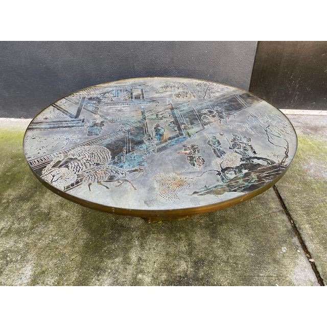 "Asian 1960"" Chinoiserie Phillip and Kelvin Laverne Chan Coffee Table For Sale - Image 3 of 13"