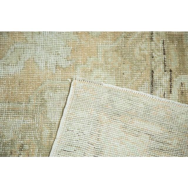 "Vintage Distressed Oushak Carpet - 5'8"" x 9'4"" - Image 9 of 10"