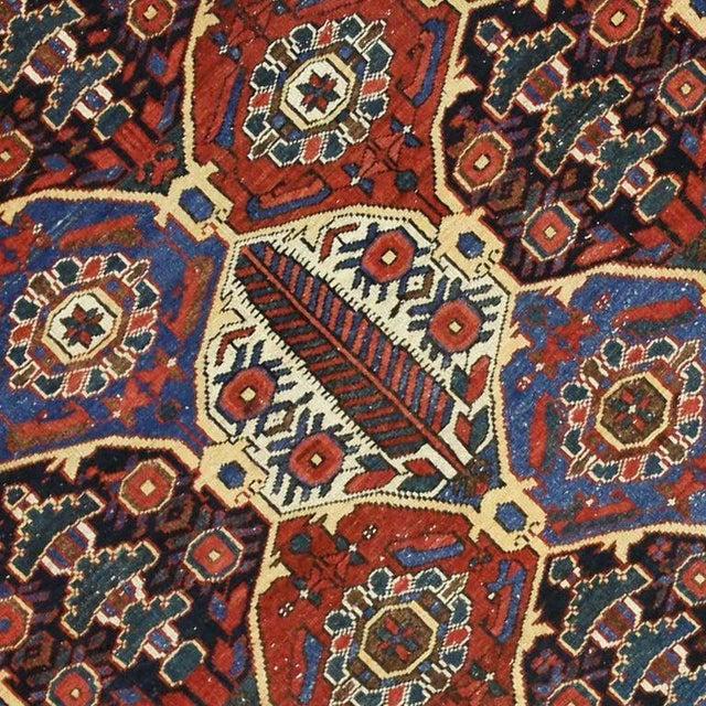 Antique Persian Bakhtiari Rug with Four Seasons Garden Design For Sale - Image 4 of 8