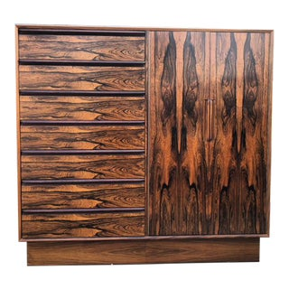 MID CENTURY ARMOIRE BY WESTNOFA