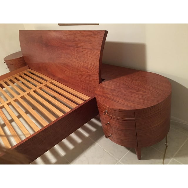 Maurice Valency King Size Bed & Two Night Stands - Image 8 of 11