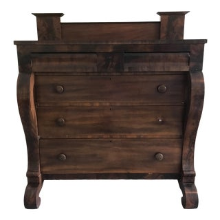 1820 American Empire Chest of Drawers For Sale