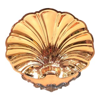 Vintage Cavalier Copperware Copper Shell Tray For Sale