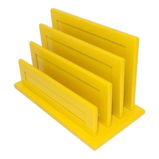 Marigold Yellow Desktop Wood Sorter