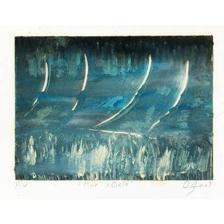 Oscar Arturo, Mar Y Cielo Abstract For Sale