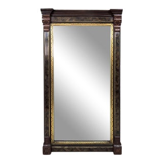 19th Century Victorian Pier Rectangular Wall Mirror For Sale