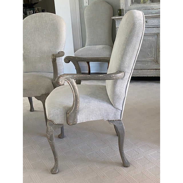 Antique Belgium Armchairs - a Pair For Sale - Image 9 of 12