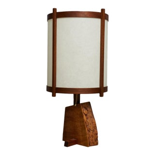 Table Lamp by George Nakashima, Circa 1968