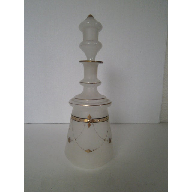 Vintage Bristol Glass Decanter - Image 2 of 7