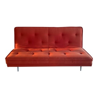 Lignet Roset Orange Nomade Express Sofa Bed For Sale