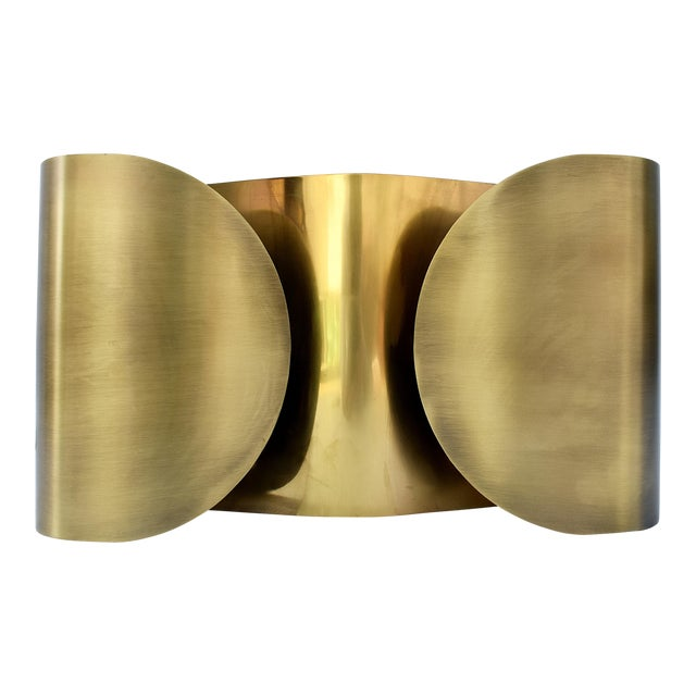 Brass Wall Sconce For Sale