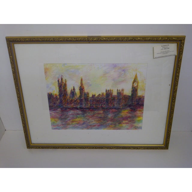 """London #2"" Original Painting by J.E. Miller For Sale - Image 9 of 9"
