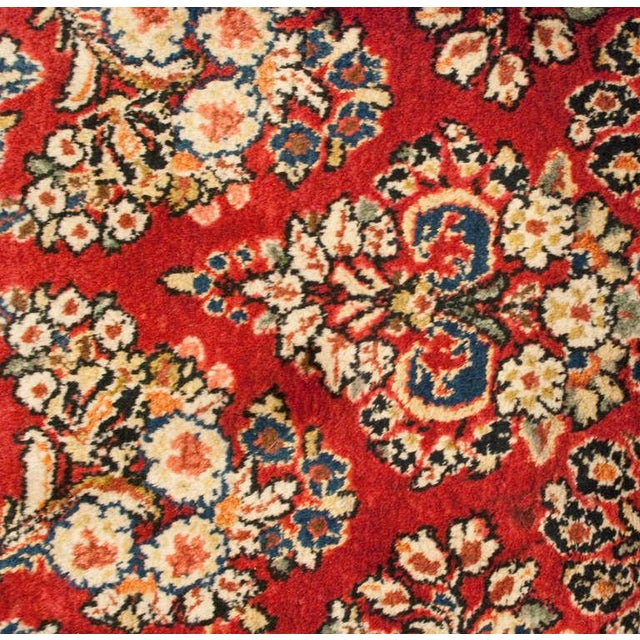 """Islamic Early 20th Century Sarouk Runner - 46"""" x 156"""" For Sale - Image 3 of 5"""