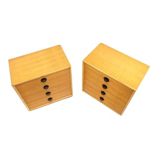 Mid-Century Four Drawer Bachelor Chests- a Pair For Sale