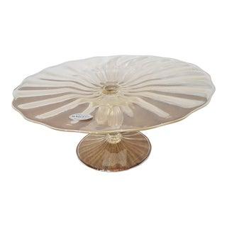Eli Vetri d'Arte Murano Glass Platter