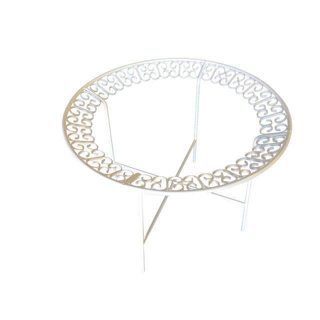 Ribbon Patio/Outdoor Picnic Table by Maurizio Tempestini for Salterini For Sale