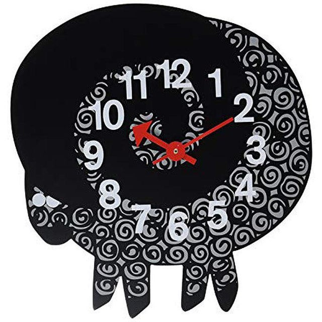 Mid-Century Modern George Nelson 1950's Mid-Century Modern Zoo Series Ram Wall Clock For Sale - Image 3 of 3