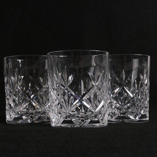 ddab1cc166d5 Tiffany and Co. Tiffany   Co. Sybil Crystal Double Old Fashioned Glasses -  Set