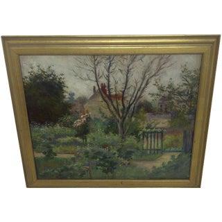 """Monet's Farm"" Reproduction Painting For Sale"