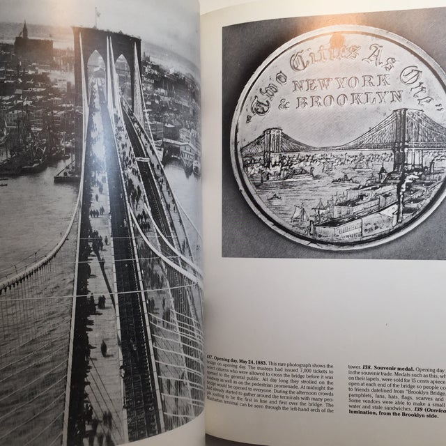 Photography Picture History of the Brooklyn Bridge Book For Sale - Image 7 of 11