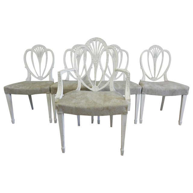 Duncan Phyfe Dining Chairs - Set of 6 - Image 1 of 10