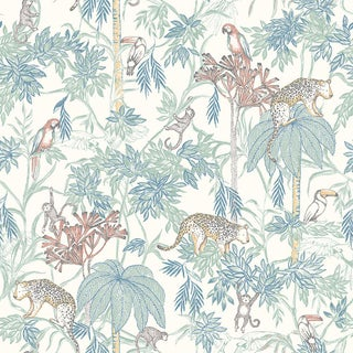 Wild Jungle Wallpaper by Borastapeter Wallpaper - This Is a Sample For Sale