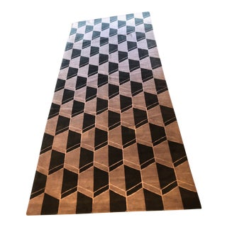 Geometric Lindstrom Rug - 5′6″ × 12′4″ For Sale