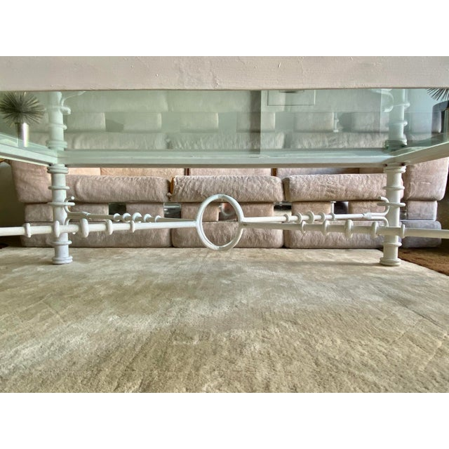 1970s Giacometti Style Coffee Table For Sale - Image 5 of 11