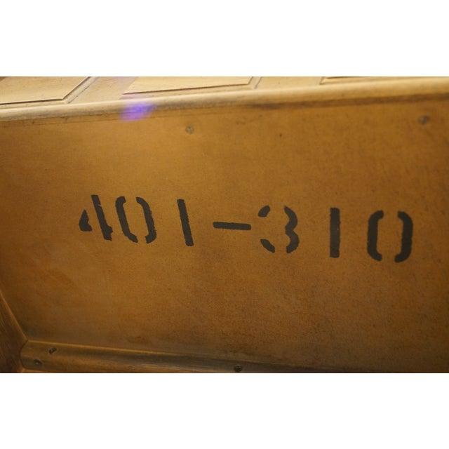 "Drexel Heritage Esperanto Collection Spanish Mediterranean 42"" Vanity W. Pop-Up Mirror 401-310 For Sale - Image 11 of 12"