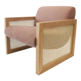 Custom Cane Armchair
