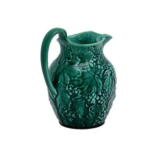 Wedgwood Green Majolica Grapevine Jug Preview
