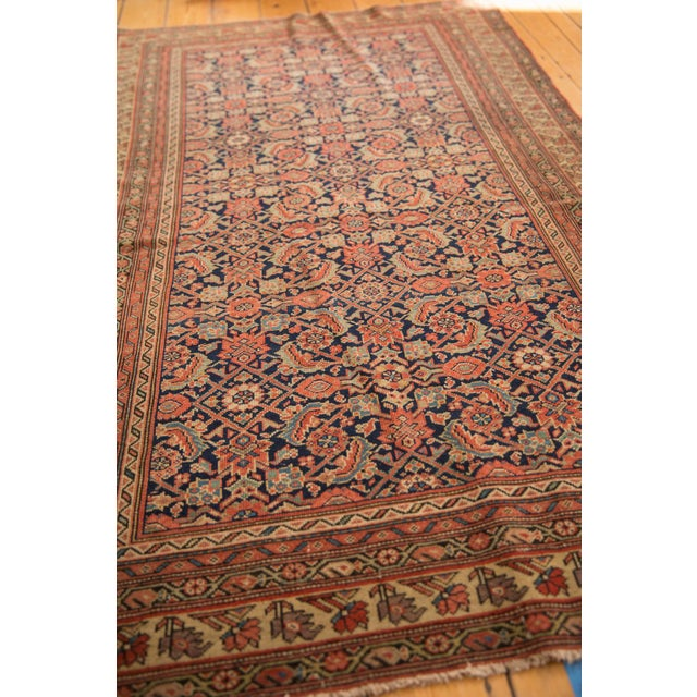 "Old New House Antique Mission Malayer Rug - 3'8"" X 5'11"" For Sale - Image 4 of 12"