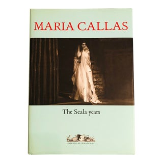 """""""Maria Callas the Scala Years"""" First Edition Book For Sale"""