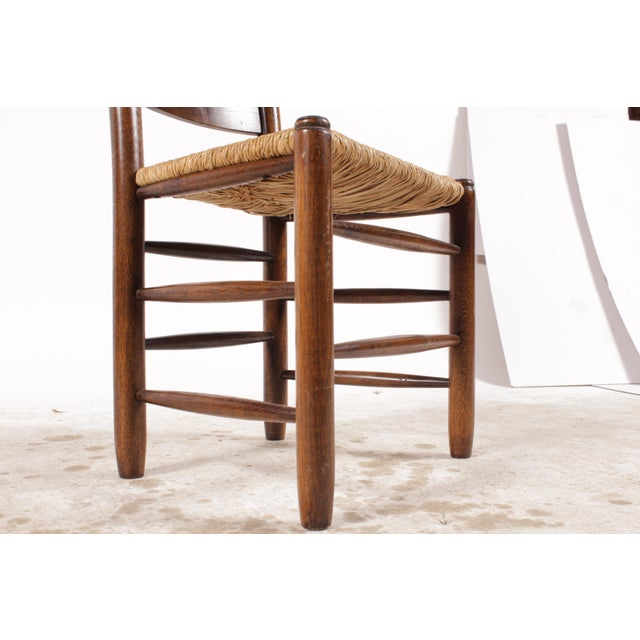 English Country Ladder Back Chairs - Set of 4 - Image 6 of 8