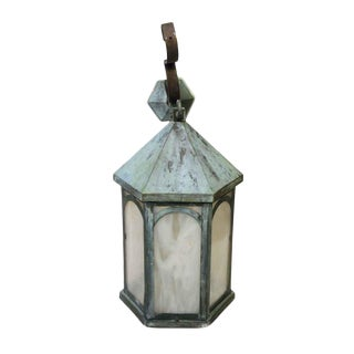 Antique Lantern Sconce