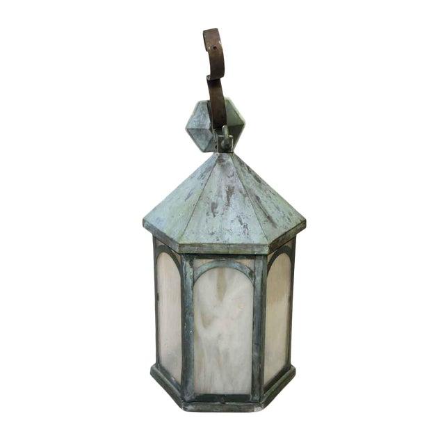 Antique Lantern Sconce For Sale