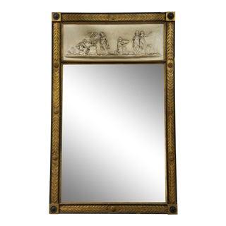 American Federal Neoclassical Console Mirror