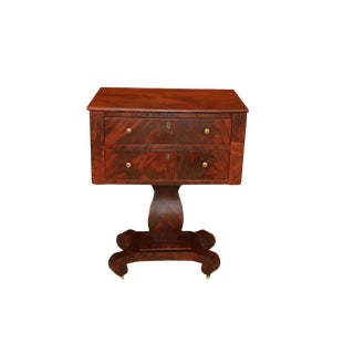 American Empire Style Side Table For Sale