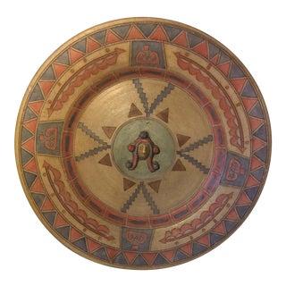 Vintage Decorative Ceramic Plate For Sale