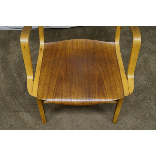 Peter Hvidt & Orla Molgaard for Fritz Hansen Axe Lounge Chair For Sale - Image 10 of 10