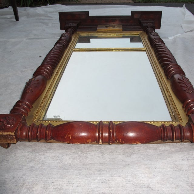 Large Federal Style Mirror For Sale - Image 5 of 11